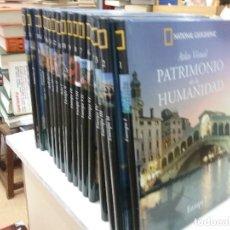 Libros antiguos: ATLAS VISUAL PATRIMONIO DE LA HUMANIDAD NATIONAL GEOGRAPHIC . Lote 184394406
