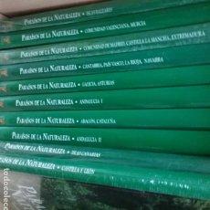 Libros antiguos: PARAISOS DE LA NATURALEZA 10 TOMOS. Lote 184395446