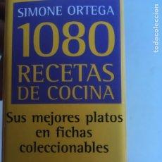 Libros antiguos: 1080 RECETAS DE COCINA SIMONE ORTEGA. Lote 184406158