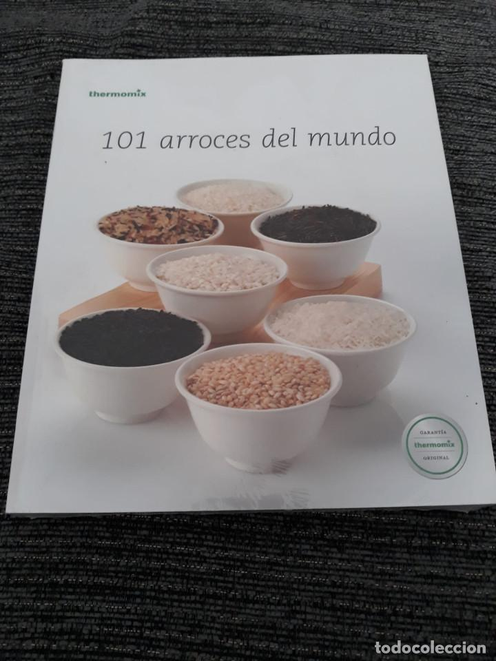 Libros antiguos: 101 ARROCES DEL MUNDO - THERMOMIX - TM31 - Foto 1 - 184444392