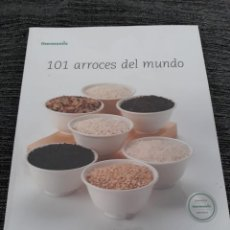 Libros antiguos: 101 ARROCES DEL MUNDO - THERMOMIX - TM31. Lote 184444392