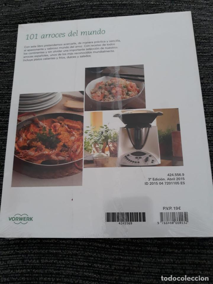 Libros antiguos: 101 ARROCES DEL MUNDO - THERMOMIX - TM31 - Foto 2 - 184444392