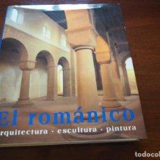 Libros antiguos: EL ROMÁNICO: ARQUITECTURA, ESCULTURA, PINTURA. ROLF TOMAN. ED. KÖNEMANN, 1996. Lote 184461087