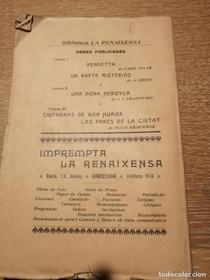 Libros antiguos: CIUTADANS DE BON HUMOR. ELIAS KRAEMMER. 1903 - Foto 2 - 184495825