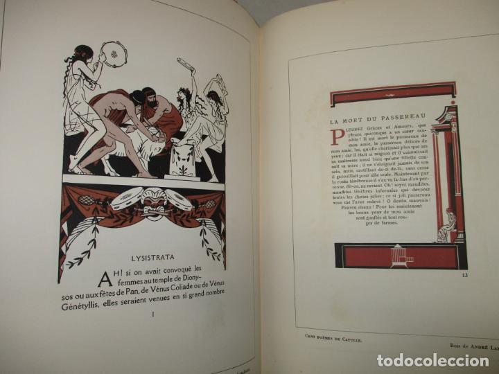Libros antiguos: LIVRE D'OR DU BIBLIOPHILE. Première Année 1925. Deuxième Année 1926-1927. Troisième Année 1928-1929. - Foto 8 - 123147084
