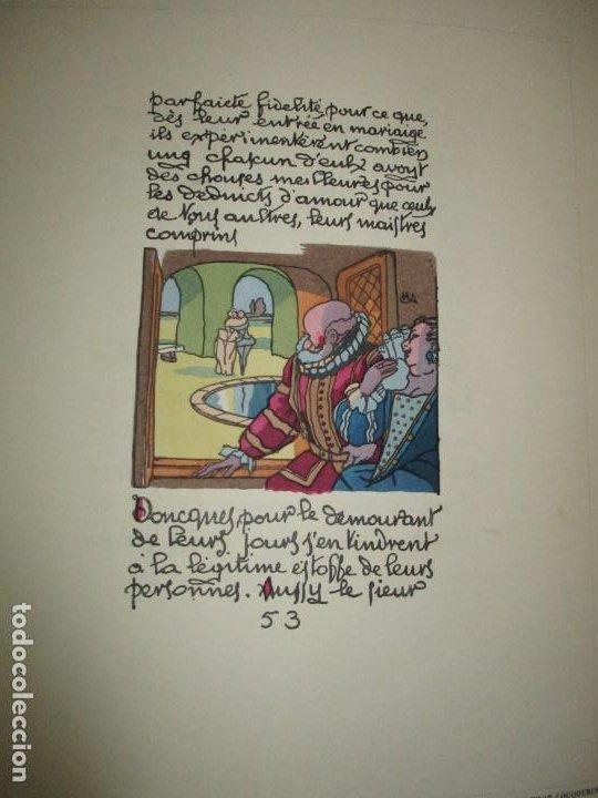 Libros antiguos: LIVRE D'OR DU BIBLIOPHILE. Première Année 1925. Deuxième Année 1926-1927. Troisième Année 1928-1929. - Foto 9 - 123147084