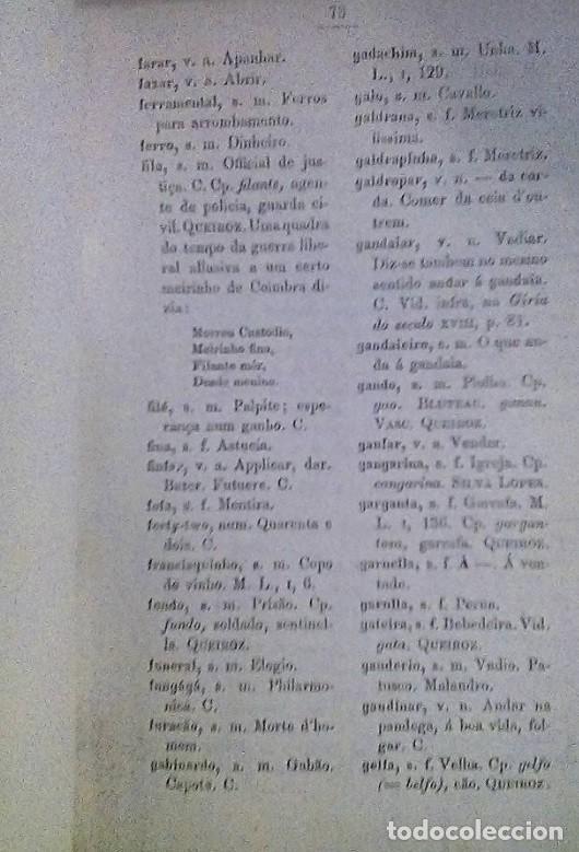 Libros antiguos: GITANOS. OS CIGANOS DE PORTUGAL ADOLFO COELHO - Foto 4 - 184564438