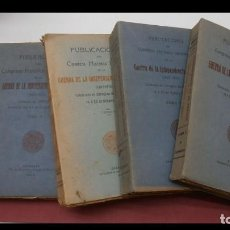 Libros antiguos: PUBLICACIONES DEL CONGRESO HISTORICO INTERNACIONAL DE LA GUERRA DE INDEPENDENCIA.. 4 VOLÚMENES. Lote 184568032