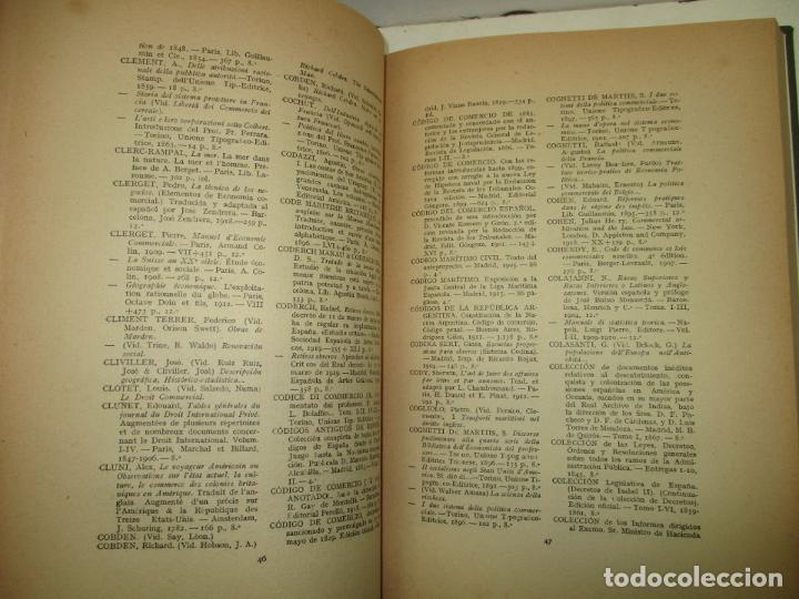 Libros antiguos: CATÁLOGO DE LA BIBLIOTECA DE LA CÁMARA DE COMERCIO Y NAVEGACIÓN DE BARCELONA.. 1921. - Foto 4 - 123140762