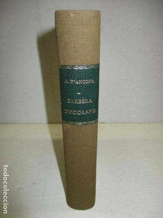 Libros antiguos: LETTERE DI GASPERO BARBÈRA. Tipografo editore (1841-1879). - BARBÈRA, Gaspero (hijo). 1914. - Foto 2 - 123161288