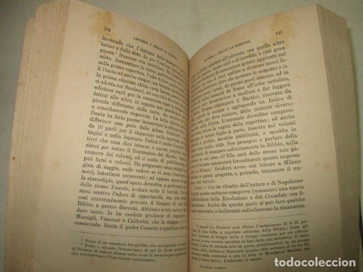Libros antiguos: LETTERE DI GASPERO BARBÈRA. Tipografo editore (1841-1879). - BARBÈRA, Gaspero (hijo). 1914. - Foto 5 - 123161288