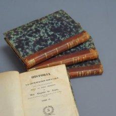 Libri antichi: HISTORIA DE LA CIVILIZACIÓN ESPAÑOLA DESDE LA INVASIÓN DE LOS ÁRABES...-EUGENIO DE TAPIA-4 T-1840. Lote 184623575