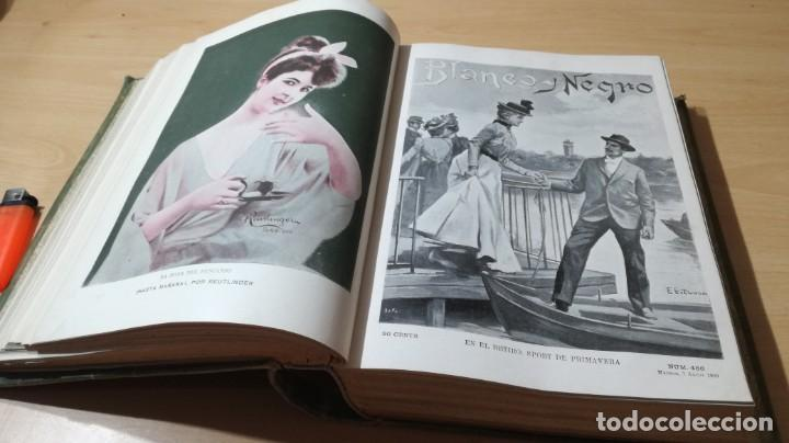 Libros antiguos: BLANCO Y NEGRO 1900 - VER FOTOS- - Foto 19 - 184650470