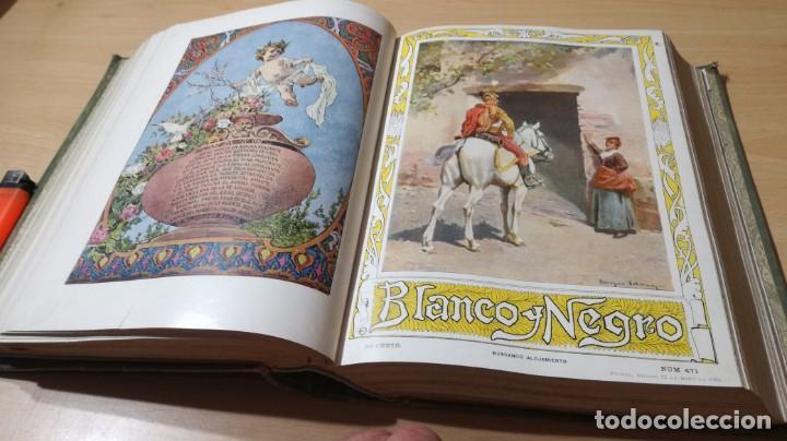 Libros antiguos: BLANCO Y NEGRO 1900 - VER FOTOS- - Foto 23 - 184650470
