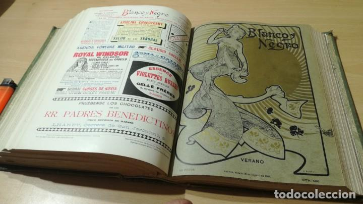 Libros antiguos: BLANCO Y NEGRO 1900 - VER FOTOS- - Foto 32 - 184650470