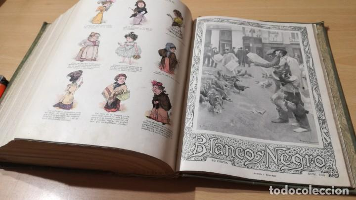 Libros antiguos: BLANCO Y NEGRO 1900 - VER FOTOS- - Foto 41 - 184650470