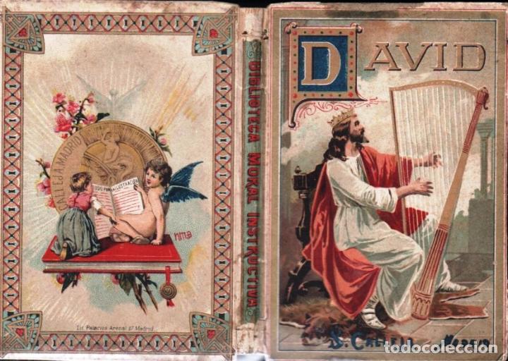 BERTHE : DAVID (SATURNINO CALLEJA, 1897) (Libros Antiguos, Raros y Curiosos - Literatura Infantil y Juvenil - Otros)