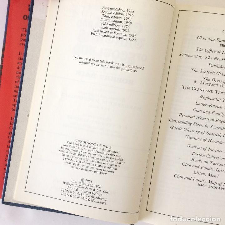 Libros antiguos: THE CLANS AND TARTANS OF SCOTLAND - ROBERT BAIN - 1985 - Foto 2 - 184841016