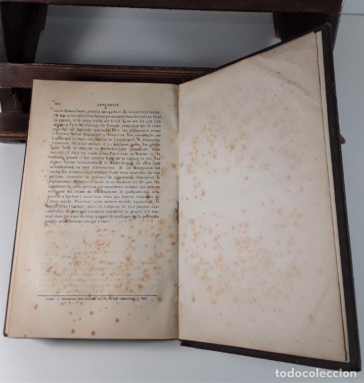 Libros antiguos: JOURNAL DE GOUVERNEUR MORRIS. E. PARISET. LIBR. PLON. PARÍS. 1901. - Foto 7 - 184920290