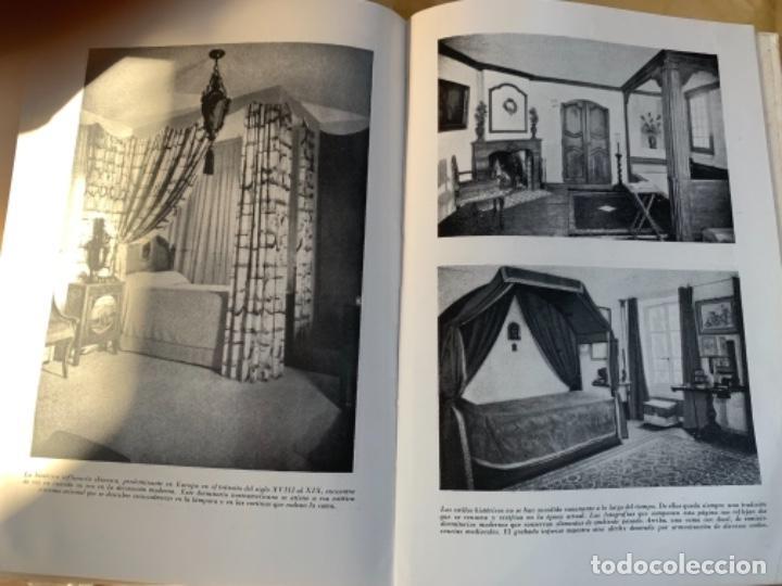 """Libros antiguos: Dormitorios, Monografía """"Arte y Hogar"""" - Foto 4 - 185063103"""