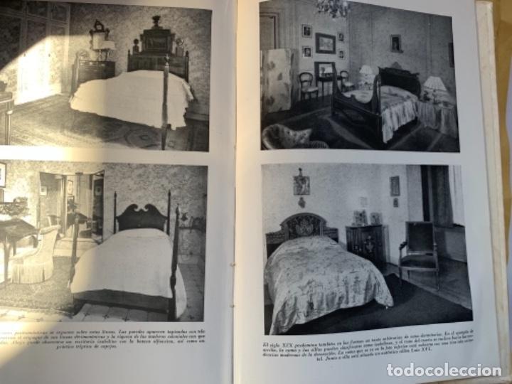 """Libros antiguos: Dormitorios, Monografía """"Arte y Hogar"""" - Foto 5 - 185063103"""