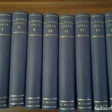 Libros antiguos: LA NOVELA CORTA CON 14/15 NOVELAS CADA VOLUMEN.ENTRE 1916/1930.LOTE 14 VOLUMENES.. Lote 185118848