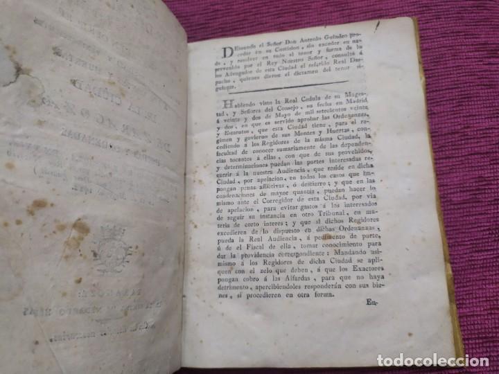 Libros antiguos: 1799. Estatutos y ordenaciones a los montes y huertas de la ciudad de Zaragoza. Medardo Heras. - Foto 2 - 185877901