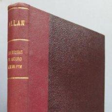 Libros antiguos: 1927.- AVENTURAS DE ARTURO GORDON PYM. ALLAN POE. Lote 185977345