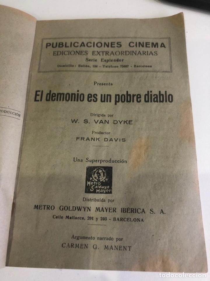 Libros antiguos: El demonio es un pobre diablo - Foto 2 - 185983093