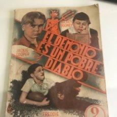 Libros antiguos: EL DEMONIO ES UN POBRE DIABLO. Lote 185983093
