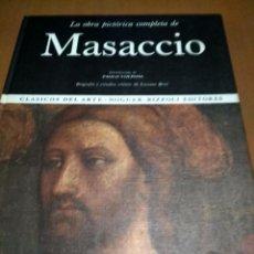 Libros antiguos: MASACCIO . Lote 186019047