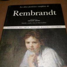 Libros antiguos: REMBRANT . Lote 186019186