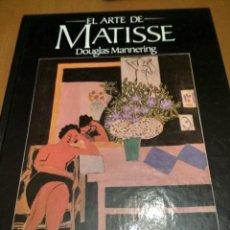 Libros antiguos: EL ARTE MATISSE. Lote 186019528