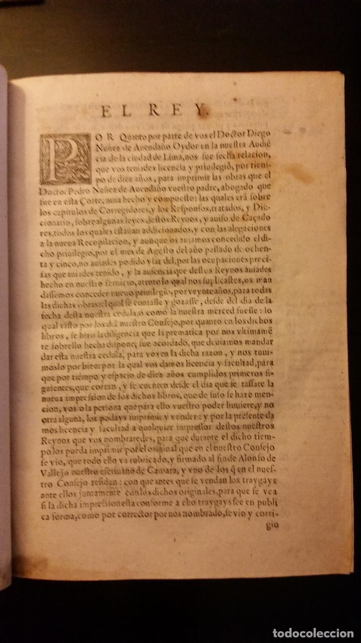 Libros antiguos: 1593 - PEDRO NUÑEZ DE AVENDAÑO - Aviso de Caçadores, y Caza - Foto 4 - 186056538