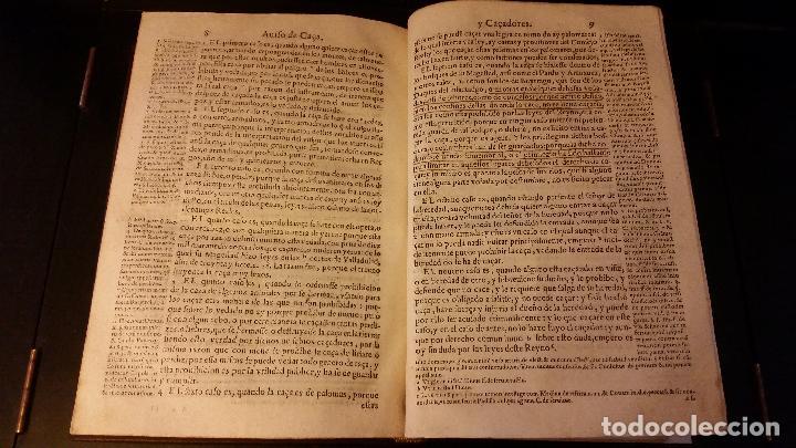 Libros antiguos: 1593 - PEDRO NUÑEZ DE AVENDAÑO - Aviso de Caçadores, y Caza - Foto 12 - 186056538