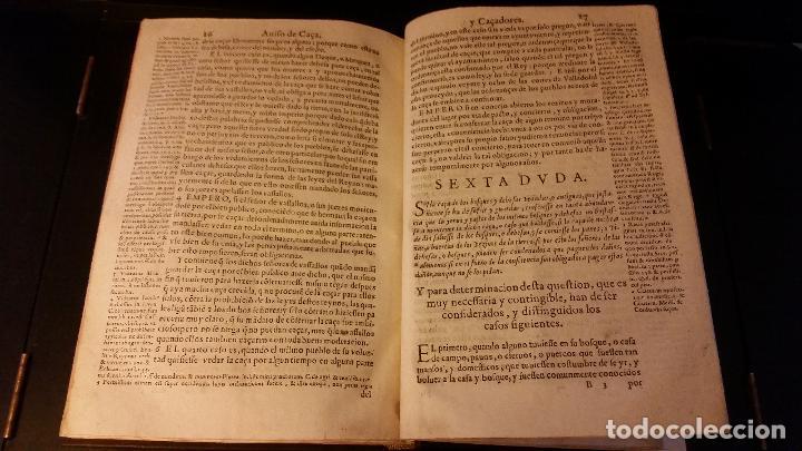 Libros antiguos: 1593 - PEDRO NUÑEZ DE AVENDAÑO - Aviso de Caçadores, y Caza - Foto 13 - 186056538