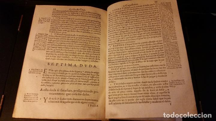 Libros antiguos: 1593 - PEDRO NUÑEZ DE AVENDAÑO - Aviso de Caçadores, y Caza - Foto 14 - 186056538