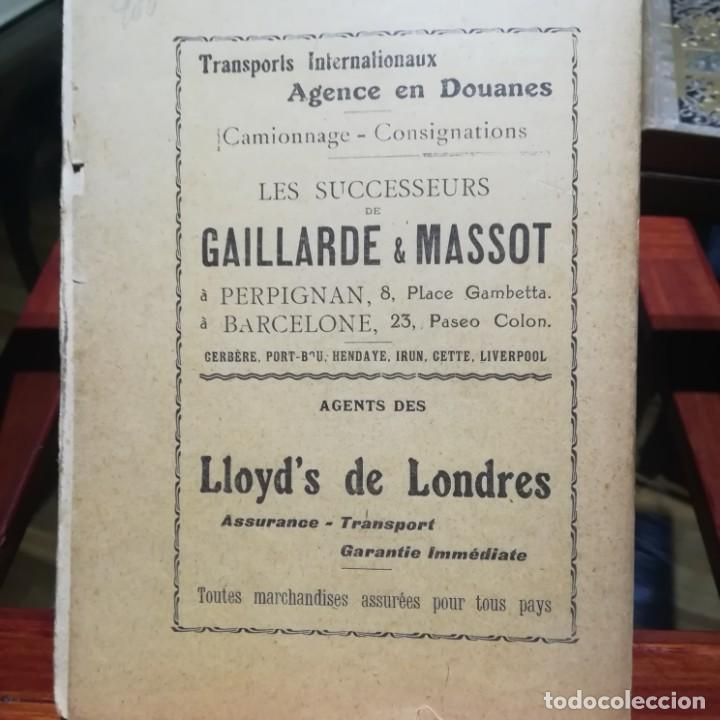 Libros antiguos: ALMANACH CATALA ROSSELLONES DE LA VEU DEL CANIGO-PERPINYA-1921 - Foto 3 - 186064377