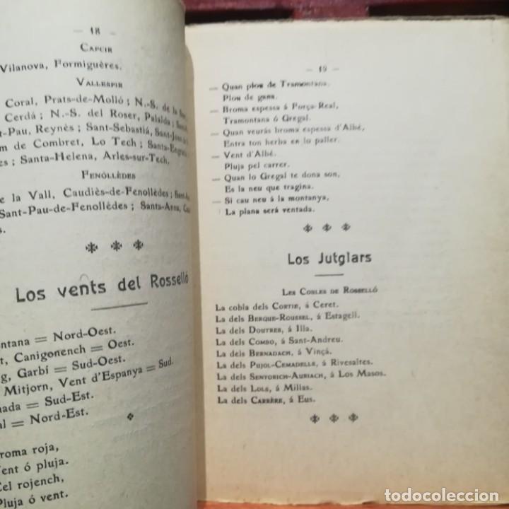 Libros antiguos: ALMANACH CATALA ROSSELLONES DE LA VEU DEL CANIGO-PERPINYA-1921 - Foto 7 - 186064377