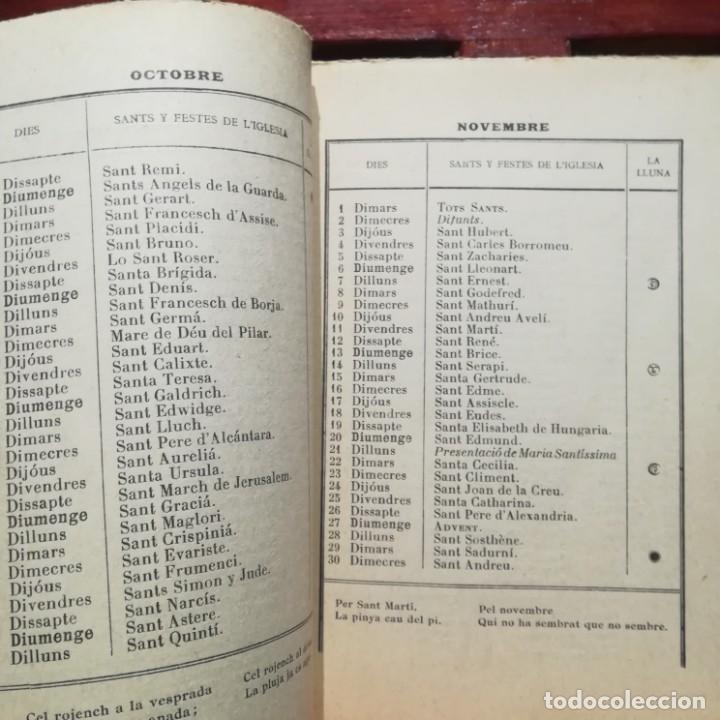 Libros antiguos: ALMANACH CATALA ROSSELLONES DE LA VEU DEL CANIGO-PERPINYA-1921 - Foto 8 - 186064377