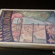 Libros antiguos: 1927 - JULIÁN ZUGAZAGOITIA - UNA VIDA ANÓNIMA - 1ª ED.. Lote 186081766