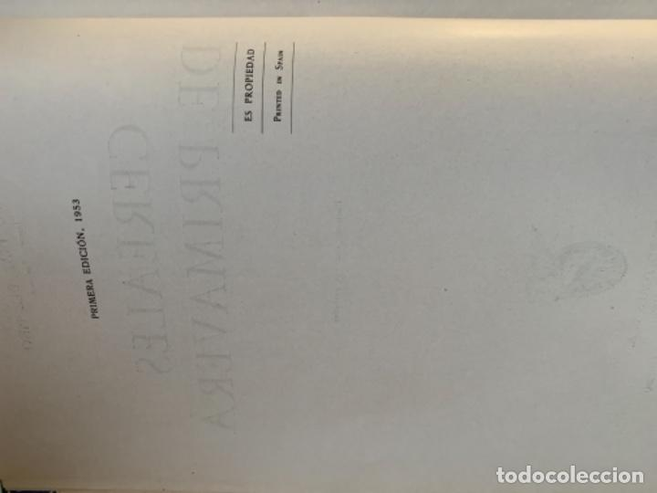Libros antiguos: Cereales de Primavera - Foto 3 - 186082686