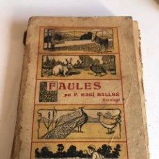 Libros antiguos: FAULES. Lote 186126175