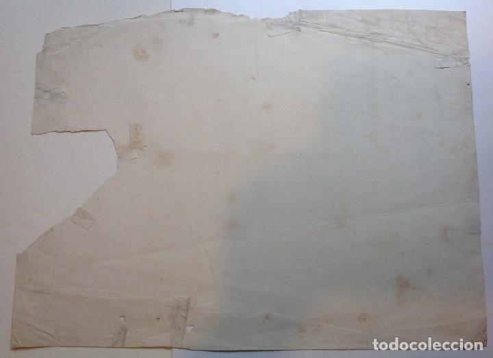 Libros antiguos: Año 1839 lote de 19 grandes laminas de Ferrocarril tren * incunable ferroviario * locomotoras * 61cm - Foto 6 - 186128423