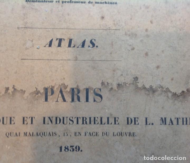 Libros antiguos: Año 1839 lote de 19 grandes laminas de Ferrocarril tren * incunable ferroviario * locomotoras * 61cm - Foto 84 - 186128423