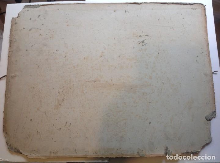 Libros antiguos: Año 1839 lote de 19 grandes laminas de Ferrocarril tren * incunable ferroviario * locomotoras * 61cm - Foto 85 - 186128423
