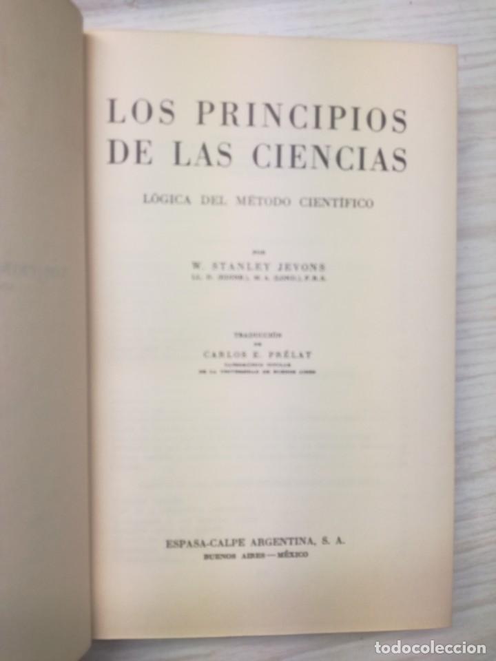Libros antiguos: Los principios de las ciencias - W. Stanley Jevons - Foto 3 - 186192243