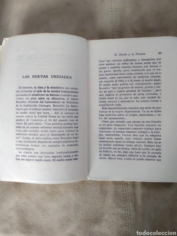 Libros antiguos: El diablo y la técnica. Héctor Velarde. 1935 Prólogo de Ramón Gómez de la Serna - Foto 4 - 186214648