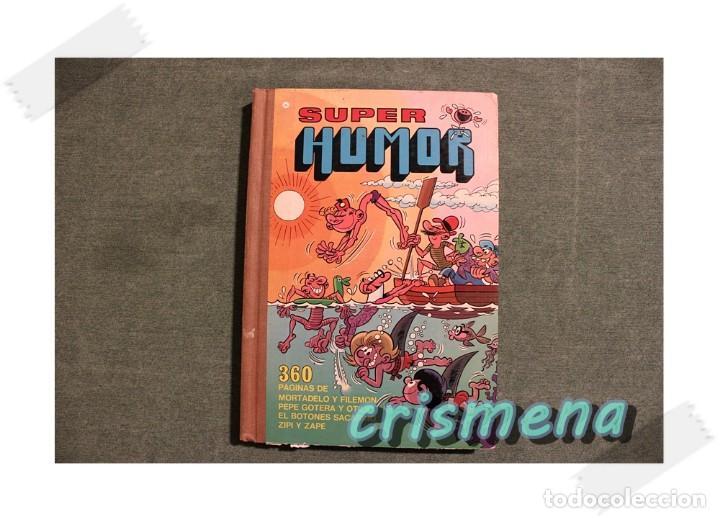 SUPER HUMOR VOLUMEN 1 3A EDICION 1980 ED. BRUGUERA VER FOTOS PARA ESTADO (Libros Antiguos, Raros y Curiosos - Literatura Infantil y Juvenil - Otros)