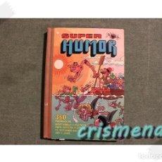 Libros antiguos: SUPER HUMOR VOLUMEN 1 3A EDICION 1980 ED. BRUGUERA VER FOTOS PARA ESTADO. Lote 186255352